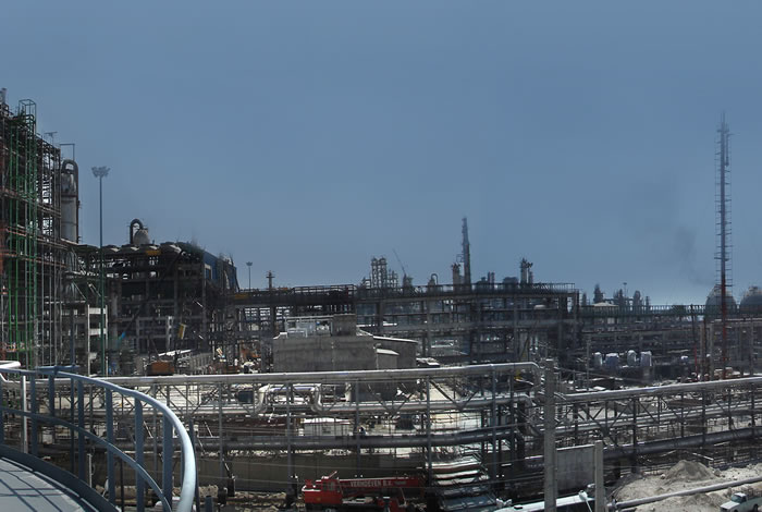 Mobin Petrochemical off-site facilities Asaluyeh-Iran